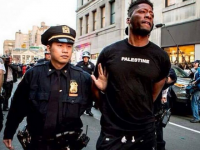 2015, Siyahların Filistin'le dayanışma açıklaması