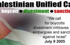 Filistin sivil toplumundan İsrail'e boykot çağrısı
