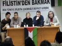 """BDS Türkiye'den """"Bölge siyasetine Filistin'den bakmak"""" paneli"""