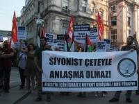 BDS Türkiye: Siyonist çeteyle anlaşma olmaz!