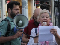 BDS Türkiye gönüllüsüAyşe Düzkan'averilencezadüşürülsün