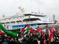 TURKEY-ISRAEL-DIPLOMACY-PALESTINIAN-GAZA-FERRY