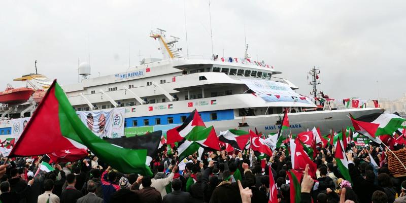 TURKEY-ISRAEL-DIPLOMACY-PALESTINIAN-GAZA-FERRY