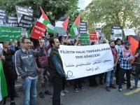 BDS Türkiye Nakba'nın yıldönümünde eylemdeydi: Filistin, Ürdün Nehri'nden Akdeniz'e kadar özgür olacak