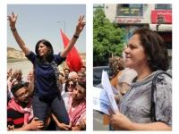 İsrail işgal güçlerince tutuklanan Filistinli liderler Halid Cerrar ve Hitam el-Saafin'e özgürlük!