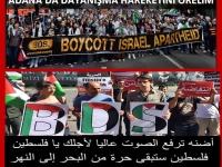 Adana'da panel: Dünden Bugüne BDS