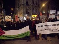 """BDS Türkiye: """"Doğusu ve batısıyla Kudüs Filistin'dir, Filistinlilerindir!"""""""