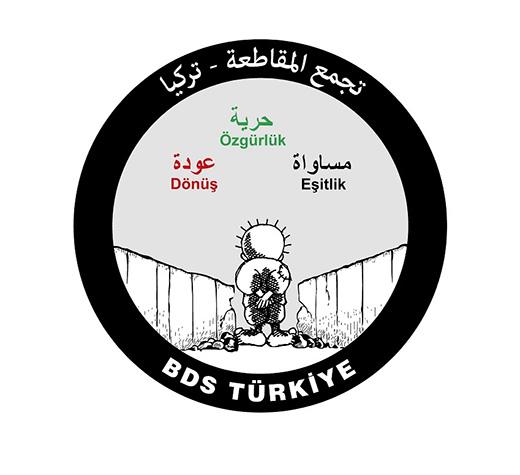 BDS Türkiye: Siyonizmin toprak gasplarına son!