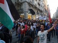 BDS Türkiye'den Nakba'nın 70. yıldönümü ve Gazze için Taksim'de kitlesel eylem (Foto haber)