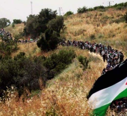 Ablukayı kaldırmak için yürüyen Filistinli kadınlar Gazze'den dayanışma çağrısı yaptı