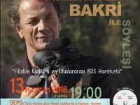 BDS Türkiye'den Filistinli yönetmen Mohammad Bakri ile söyleşi