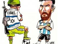 """BDS ve Filistinliler çağrı yapmıştı: Arjantin, İsrail'le """"dostluk"""" maçını iptal etti"""
