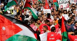 Eylül 2016'da, Ürdün'ün başkenti Amman'da İsrail'le gaz anlaşmasına karşı gerçekleşen protesto
